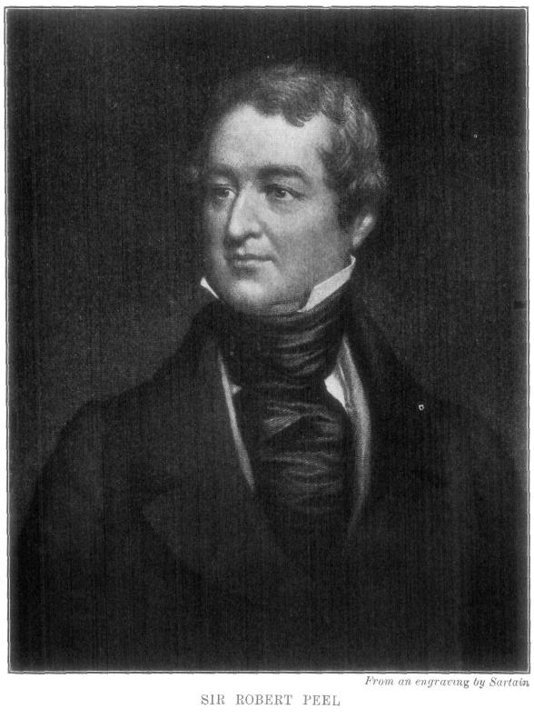 role of sir robert peel in Peel, robert (1788-1850), of 12 sir robert peel  peel confirmed and explained the decision to concede emancipation and his own role in the deliberations of.